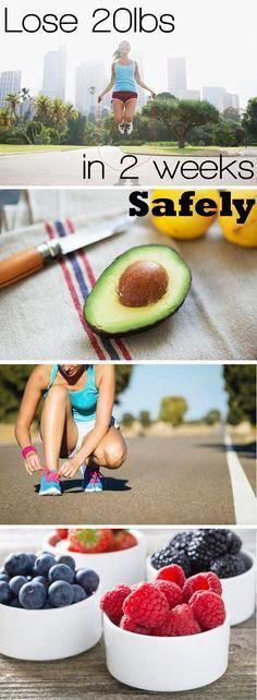 How to lose 20 pounds in two weeks safely! It's possible to lose weight in two w...