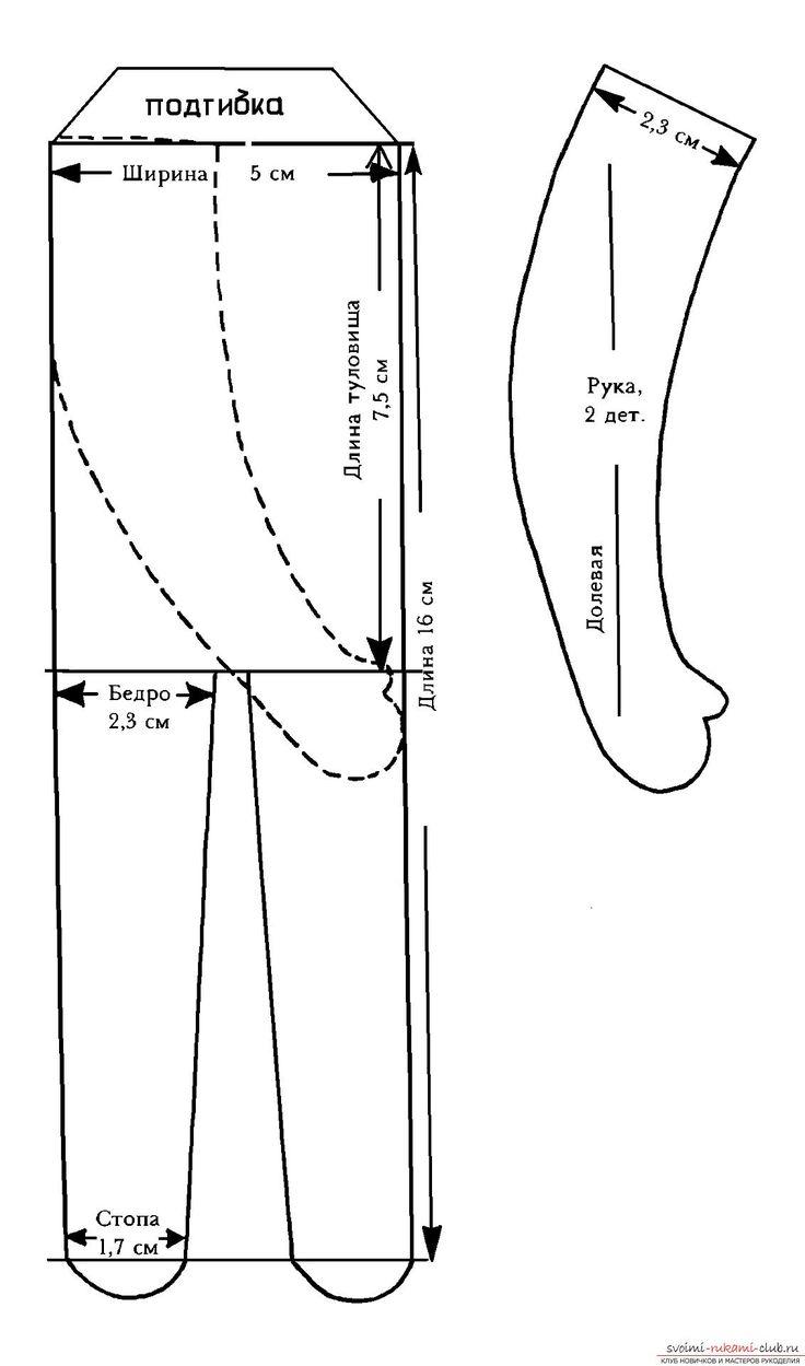Вальдорфская кукла, ее выкройка и разъяснения по созданию.. Фото №1