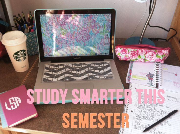 Tips to help you study throughout the entire semester!
