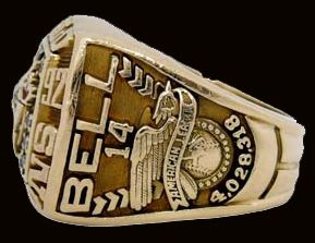 Toronto Blue Jays 1992 World Series Ring - Side View (right)