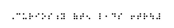 Curiosity often leads to trouble in Braille!!! Love the idea of have this as a tattoo!!!