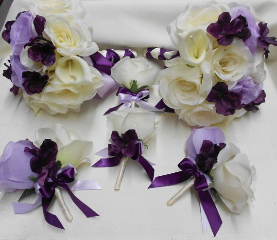 Bouquets Package Your Colors Calla Lily Lavender Eggplant Roses Flower