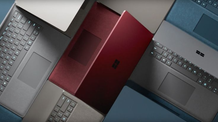 Microsoft's Surface Laptop video features a slowed-down cover of the Grease soundtrack
