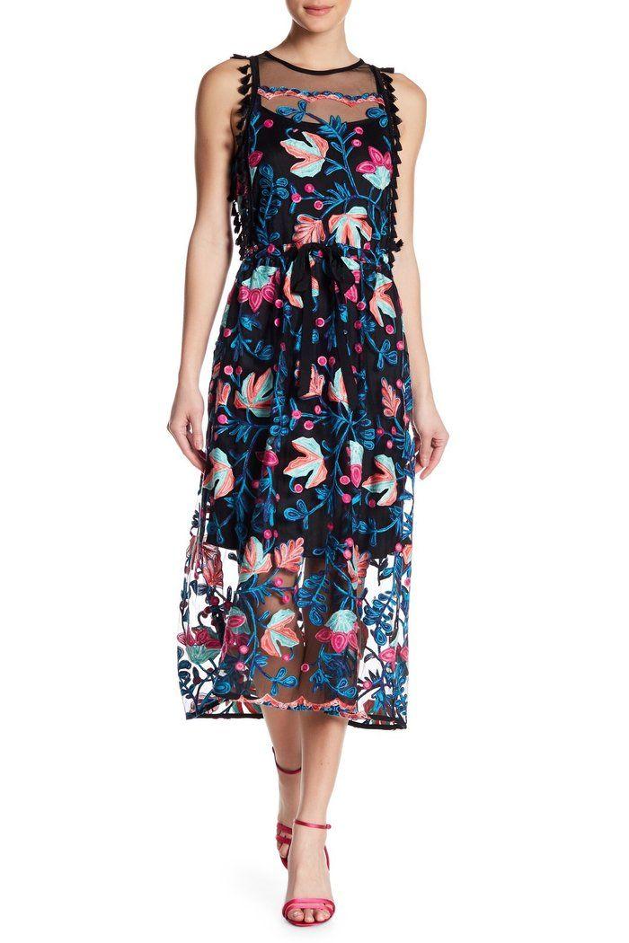 cf3c6dd0d3f Sage Dress - Red Navy Floral