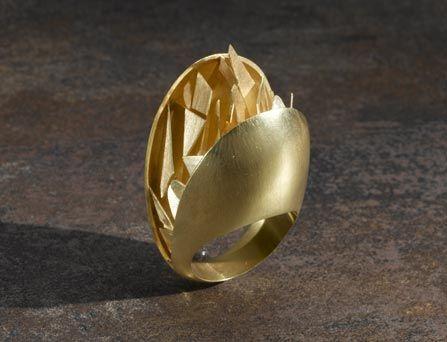 Ring | Alberto Zorzi.  Gold