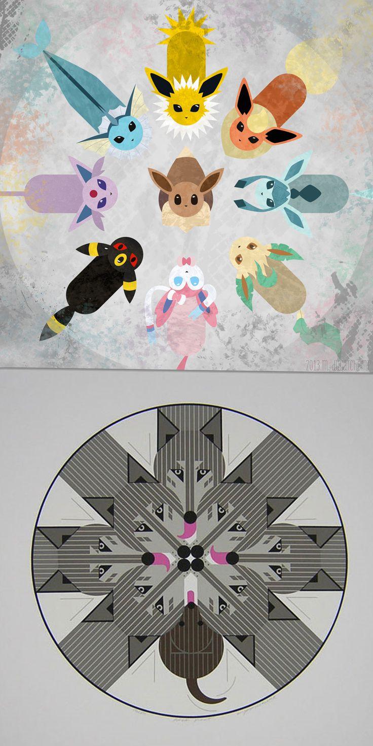 Mejores 38 imágenes de Charley Harper Pokemon en Pinterest   Charley ...