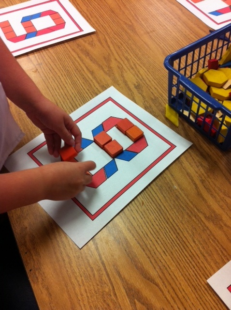 A KinderGarden In Bloom: math centers