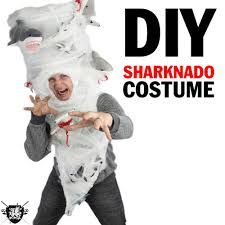 sharknado costume jk not doing it