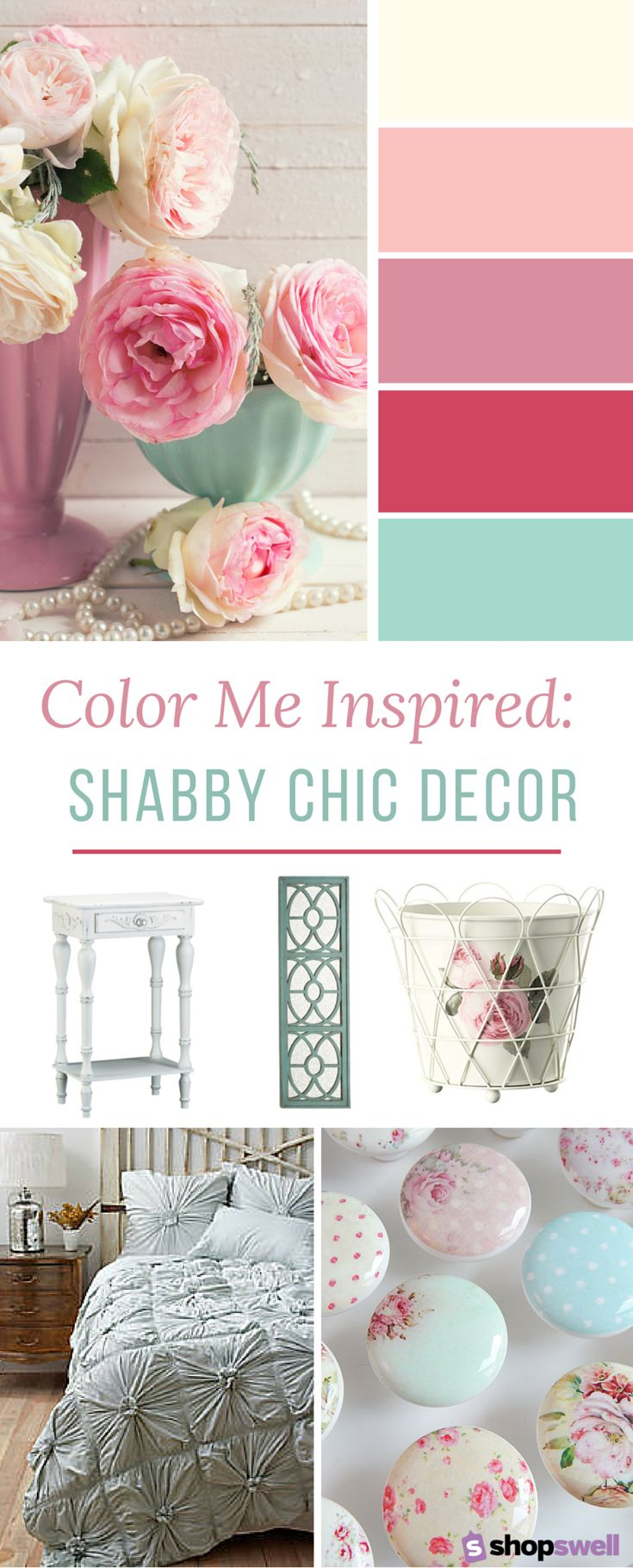 Shabby chic bedroom paint colors - 20 Home Decor Essentials For The Shabby Chic Bedroom