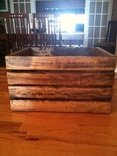 Rustic Wood Crate Darlas Studio 66 http://www.amazon.com/dp/B00Q43LKZG/ref=cm_sw_r_pi_dp_2TMrwb1PEQNKE