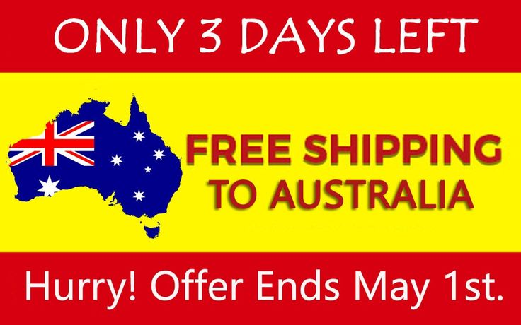 Take advantage of the FREE SHIPPING within the next 3 days & you can have an additional 10% further discount using code TFR10