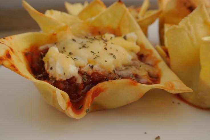 Mini lasagna hapjes | Lekker en Simpel