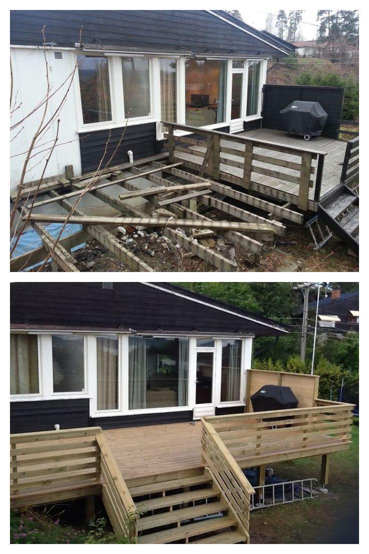 Lekker #terrasse klar for sommeren.