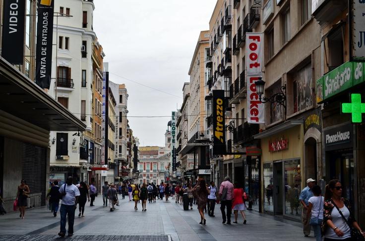 Toward Sol in Madrid