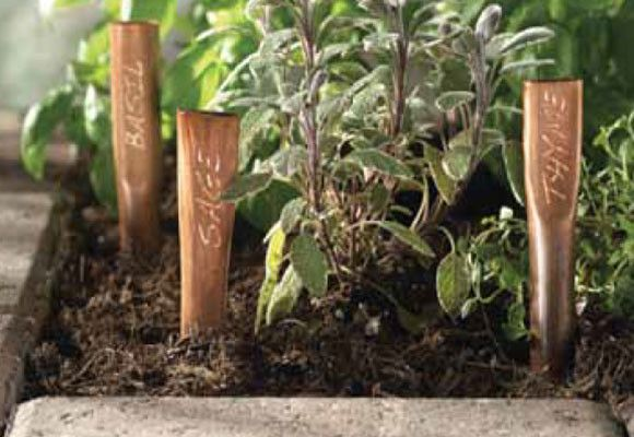Añada un estilo personalizado a su jardín.
