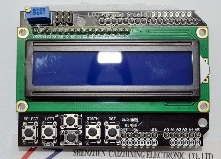 1PCS LCD Keypad Shield LCD1602 LCD 1602 Module Display For Arduino ATMEGA328 ATMEGA2560 raspberry pi UNO blue screen        LCD Keypad Shield LCD1602 LCD 1602 Module Display For Arduino ATMEGA328 ATMEGA2560 raspberry pi UNO blue screen  Notice: The new tracking number for Malaysia Post Ordinary Small Packet Plus can be traced only befor it arrive the airport of your country,please choose China Post Air Mail if you want a full tracking info.The same product will arrive in 15 to 60 days…