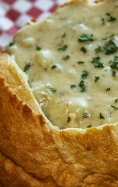 Guy Fieri's Chunky New England Clam Chowder