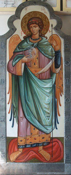 """Rzhanitsina S.Portfolio """"art de l'église orthodoxe moderne."""