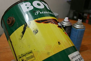how to safely dispose of paint