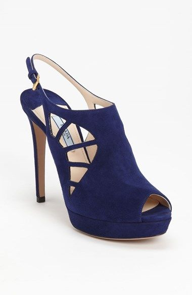 Prada Slingback Bootie available at #Nordstrom
