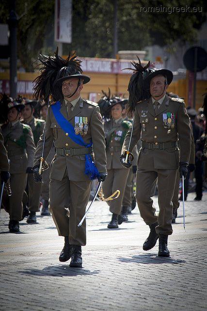 Festa della Repubblica - Bersaglieri, Rome Italy
