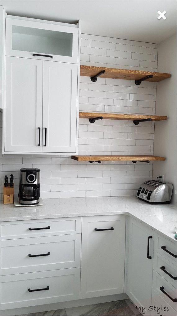 Jun 8 2020 This Pin Was Discovered By Debbie Hader Discover And Save Your Own Pins On Pinterest In 2020 Rustic Shelves Small Kitchen Decor Kitchen Remodel