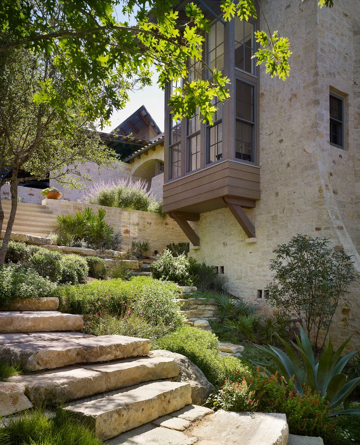 paul lamb architects / river road residence, austin (landscape architecture: root design)