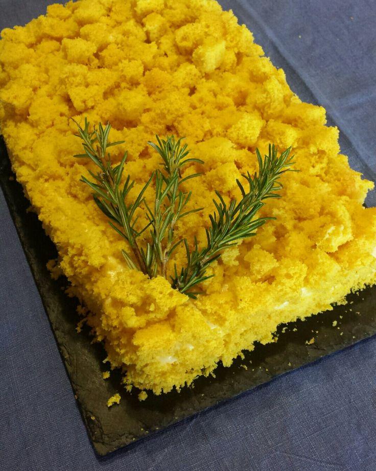 Torta mimosa 💛