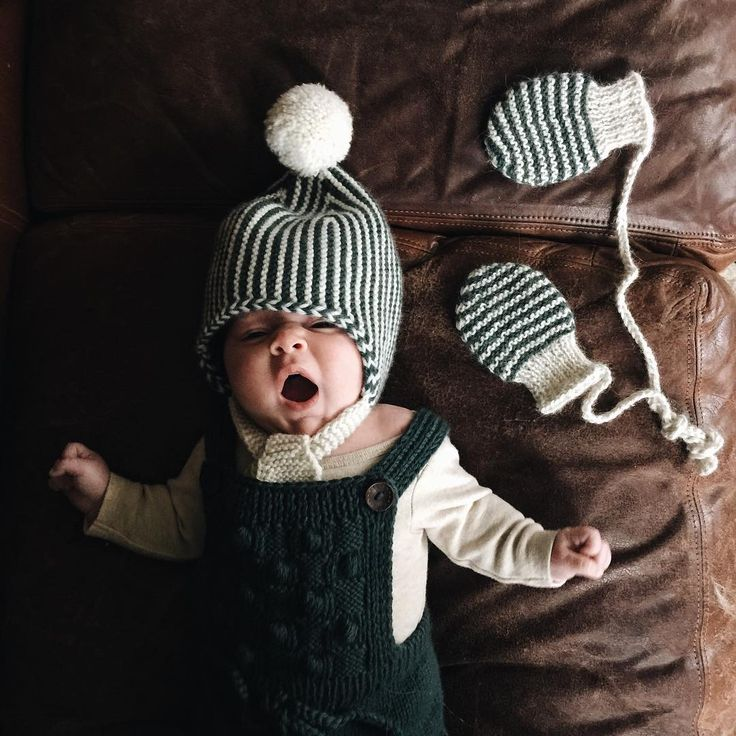 """Little Minoux ready for a chilly rainy day in Minnesota. I wish I had all her clothes in my size and have such a deep appreciation for knitters. The…"""