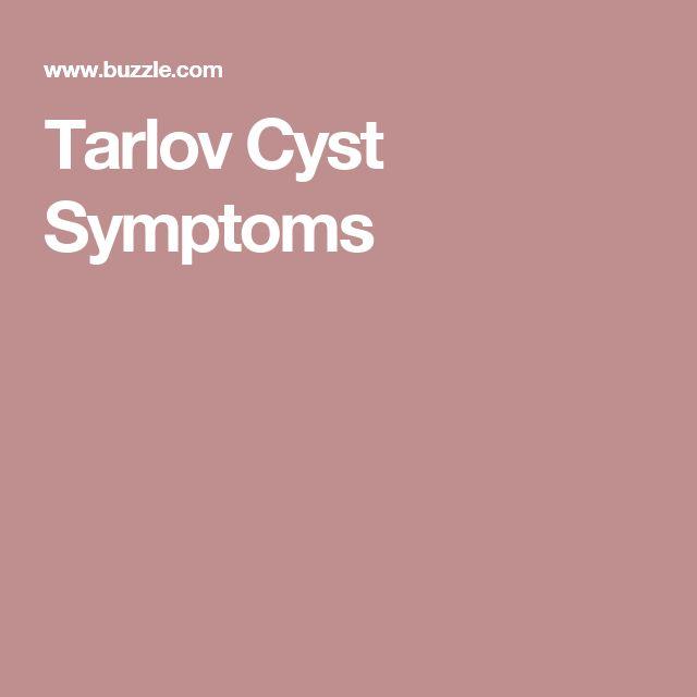 Tarlov Cyst Symptoms