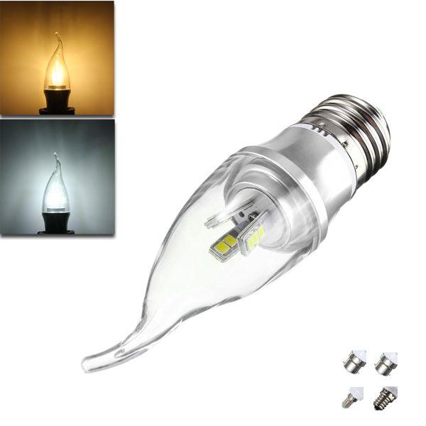 Wholesale Price + Free Shipping #B15 LED Bulbs E27 E14 E12