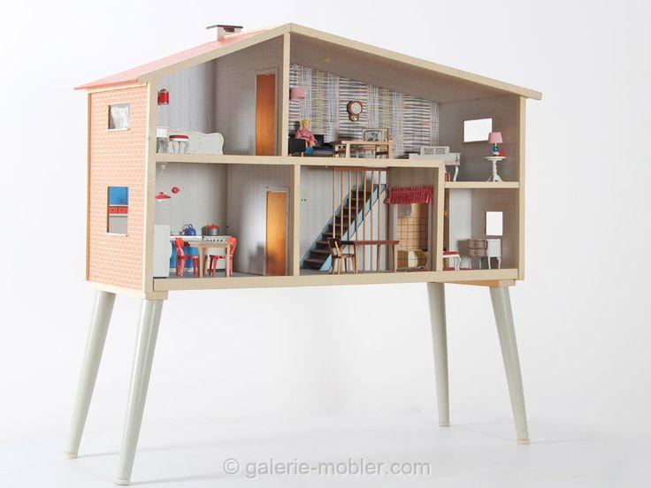 les 25 meilleures id es de la cat gorie maisons miniatures sur pinterest diy maison poup e. Black Bedroom Furniture Sets. Home Design Ideas