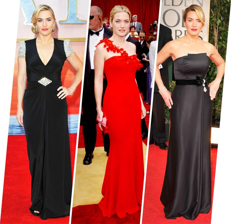 Article and slideshow from Vogue.com highlights the importance of wearing styles that are classic and always look good on your body. Kate Winslet is the perfect example of someone who always looks her best on the red carpet. - Katy M.