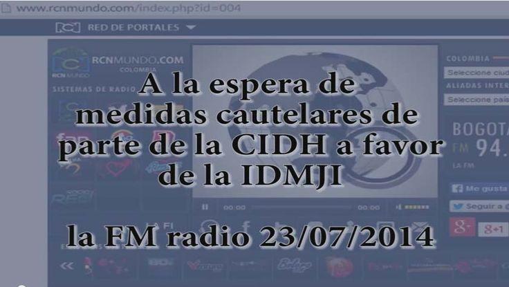 Noticia solicitud de medidas cautelares a la CIDH