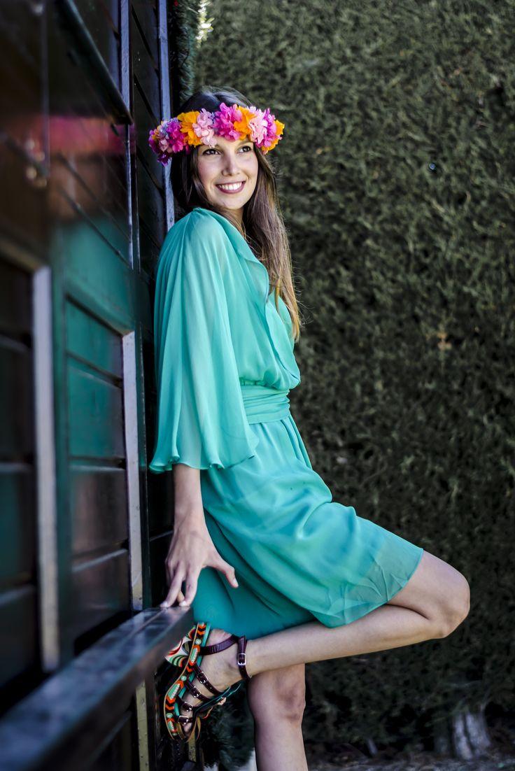 Mejores 8 imágenes de Coronas de flores en Pinterest   Coronas de ...