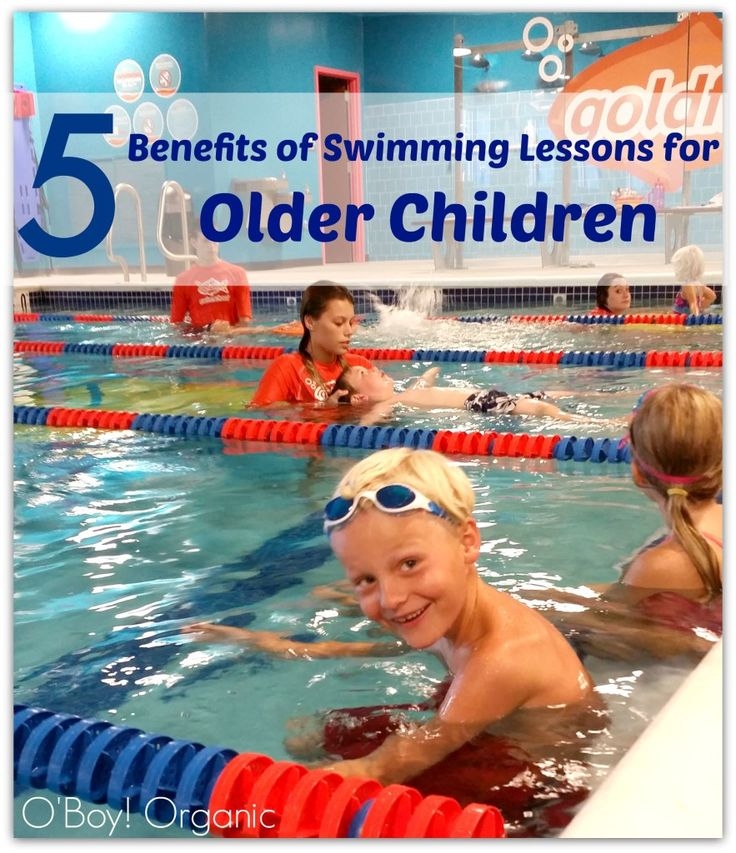 Swimming - health benefits
