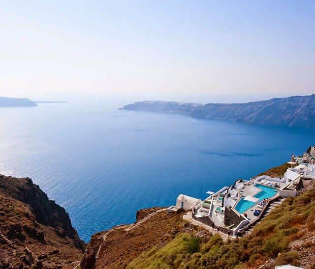 Grace Santorini Hotel - Santorini Island, Greece http://destinations-for-travelers.blogspot.com.br/2014/08/grace-santorini-hotel.html