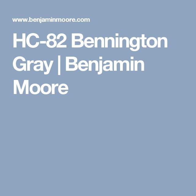 HC-82 Bennington Gray | Benjamin Moore