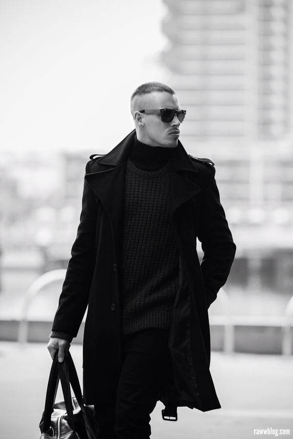 #menstrfashion #black #men #street #fashion