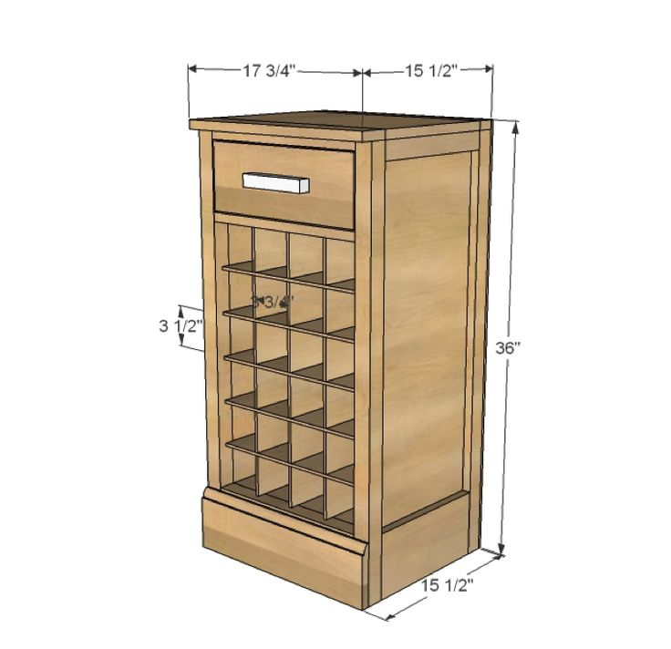 Diy Wine Cellar Rack Plans Woodworking Projects Plans