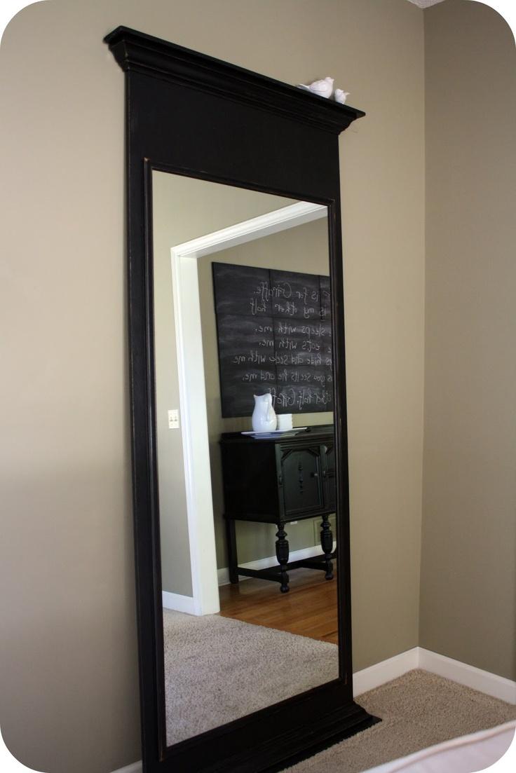 DIY Floor Mirror by westermanfam.blog... #DIY #Floor_MIrror #westermanfam_blogspot