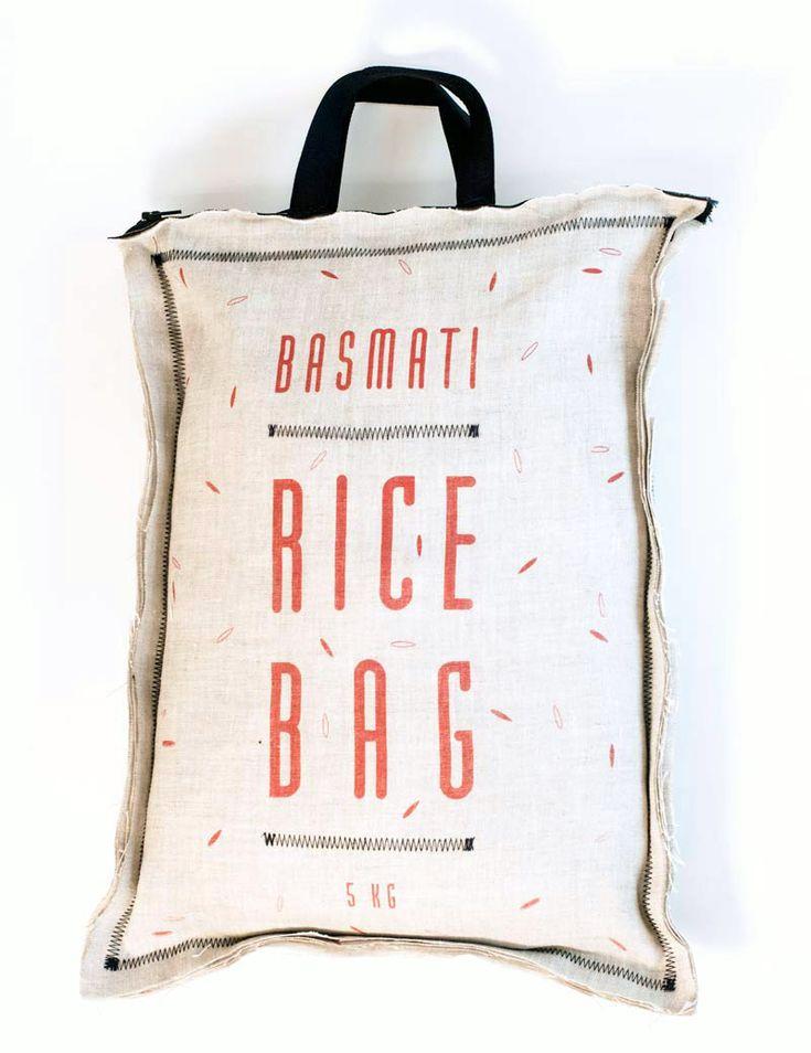 PACKAGING   UQAM: RICE BAG = NICE BAG   Audrey-Claude Roy