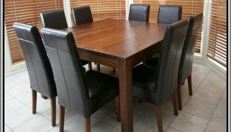 Square Dining Table For 8 Malaysia Furniture Pinterest