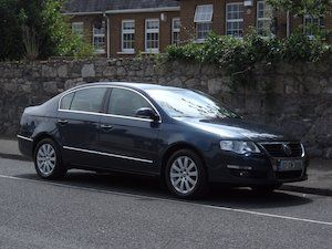 Really good Passat 1.9 TDi Comfortline.  NCT passed today until September 2018.  Taxed until April 2018.  Digital climate control - Air conditioning.  Alloy wheels with recently fitted tyres. Electric windows front and rear. Electric door mirrors. Mahogany wood trim. Leather steering wheel. New clutch and flywheel fitted. Timing belt replaced. Maintained regardless of cost. Drives as good as new. No text's, call if genuinely interested.