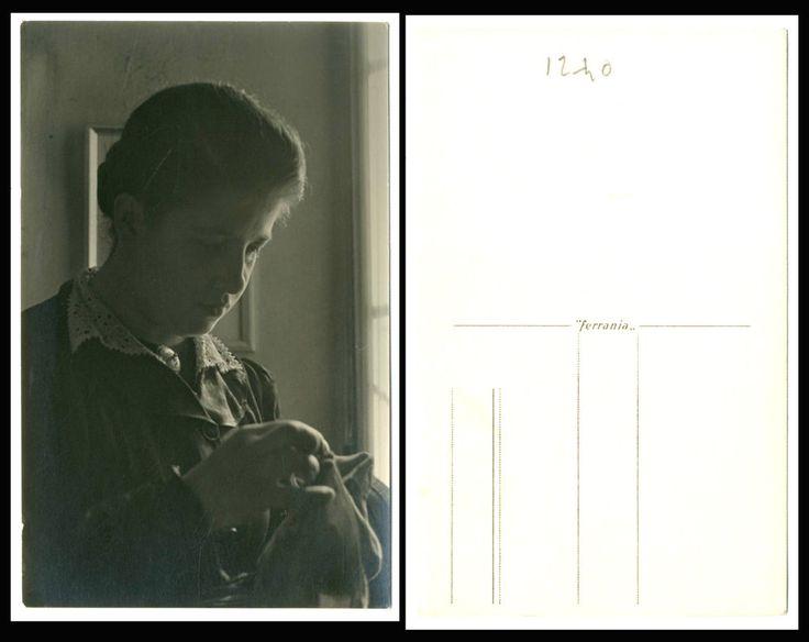 NERINA e FOTO RITRATTO D EPOCA DI SANTINO SALARDI-SAN GIOVANNI IN PERSICETO 1920