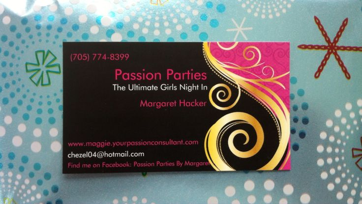 Passion Parties by Margaret Hacker