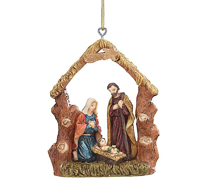 Vintage Religious Nativity Christmas Ornament: 34 Best Christmas Is In The Heart Images On Pinterest