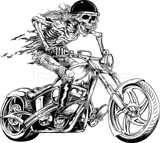 skull biker motociclismo pinterest skulls. Black Bedroom Furniture Sets. Home Design Ideas