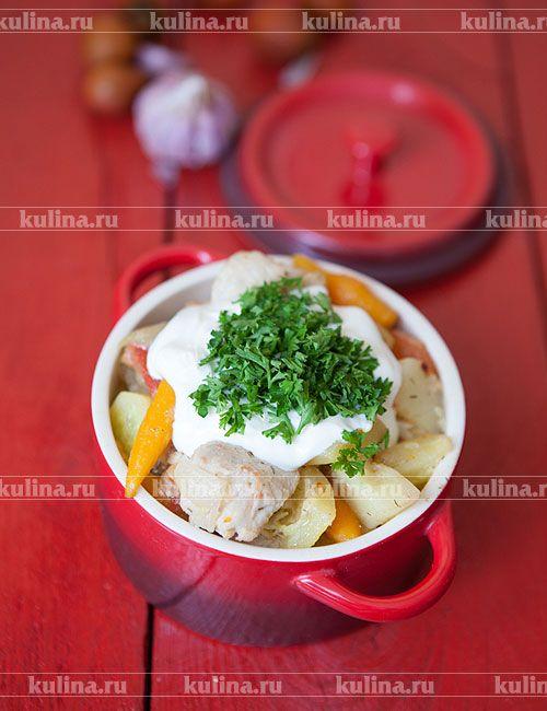 Курица с кабачками - рецепт с фото