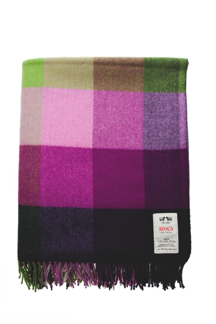 Lambswool Throws, Sofa Throws, Bed Throws - Avoca.com